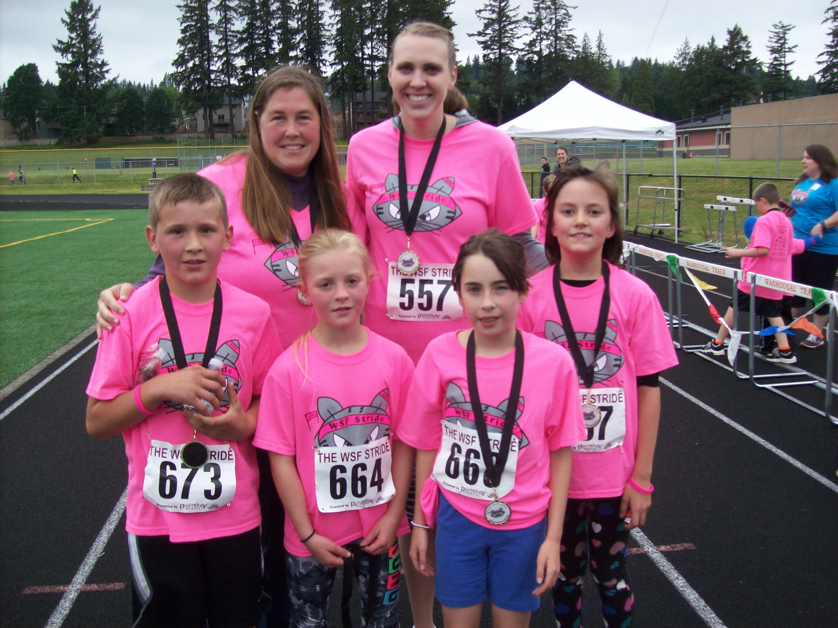 CH-S at the Annual STRIDE 5K Run/Walk - May 21, 2016