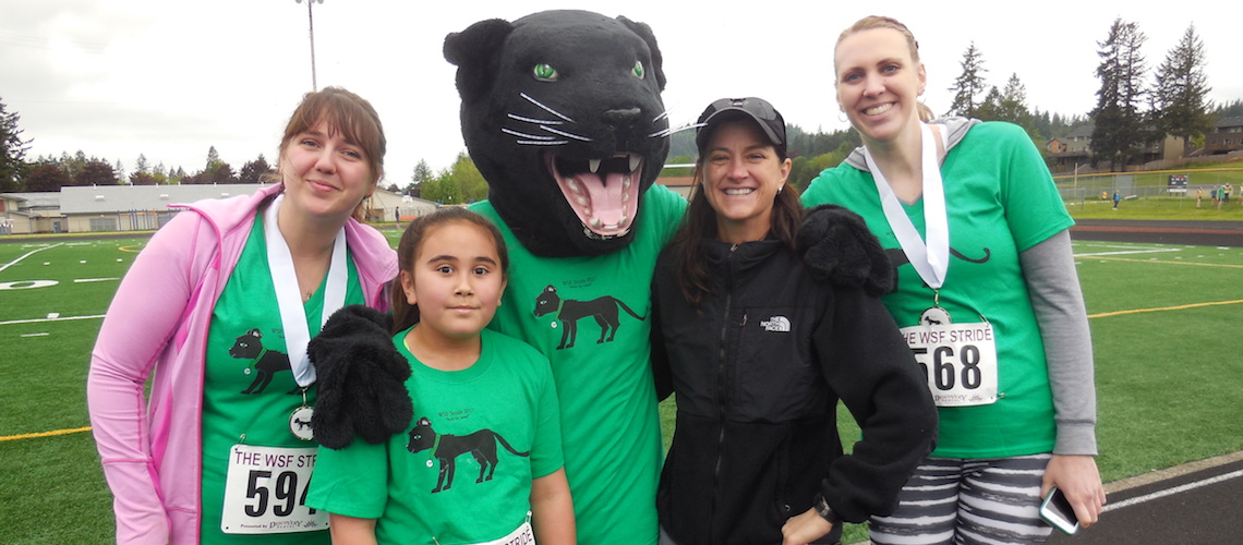 CH-S at the WSD Stride Run 2017