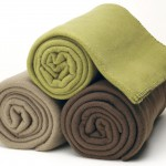 rolled fleece blankets