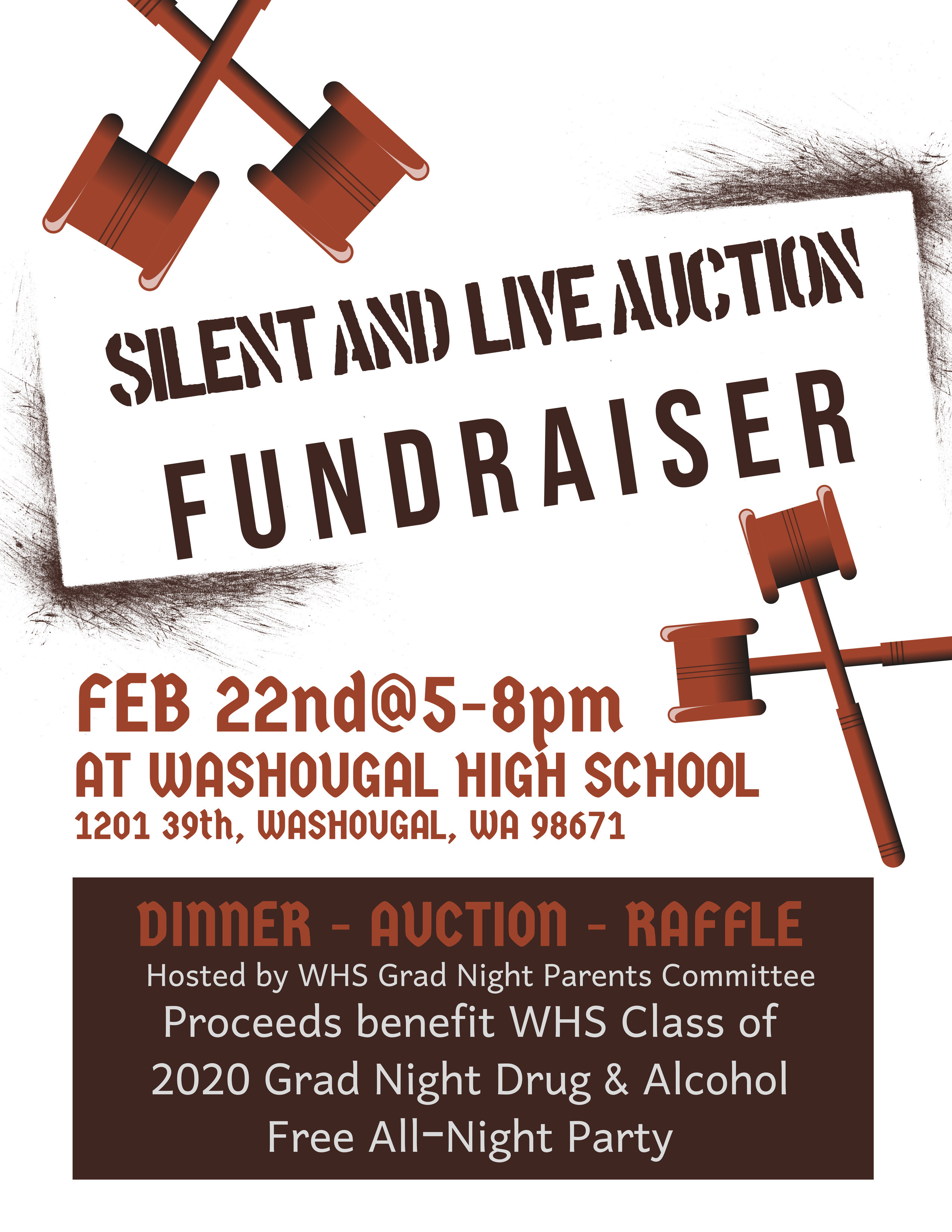 Silent and Live Auction Fundraiser