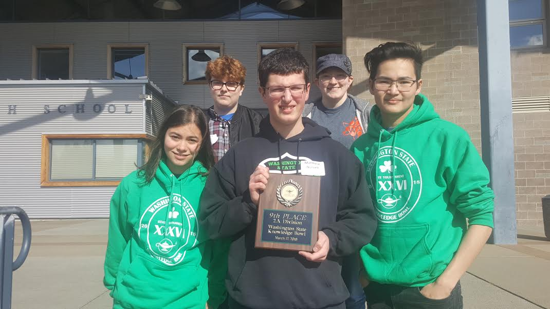 Knowledge Bowl Team places 9th at State