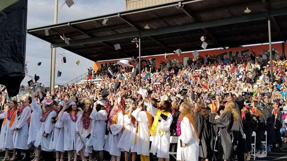 Congratulations to the Class of 2018! Make a Difference!