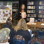 Students learn about volunteer opportunities with the City of Washougal