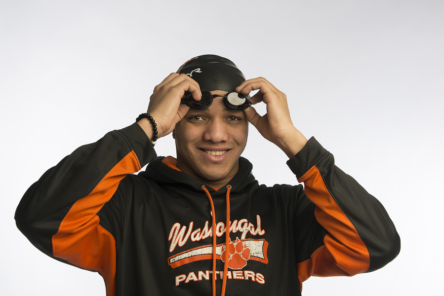 Isaiah Ross, The Columbian's All-Region Swimmer of the Year