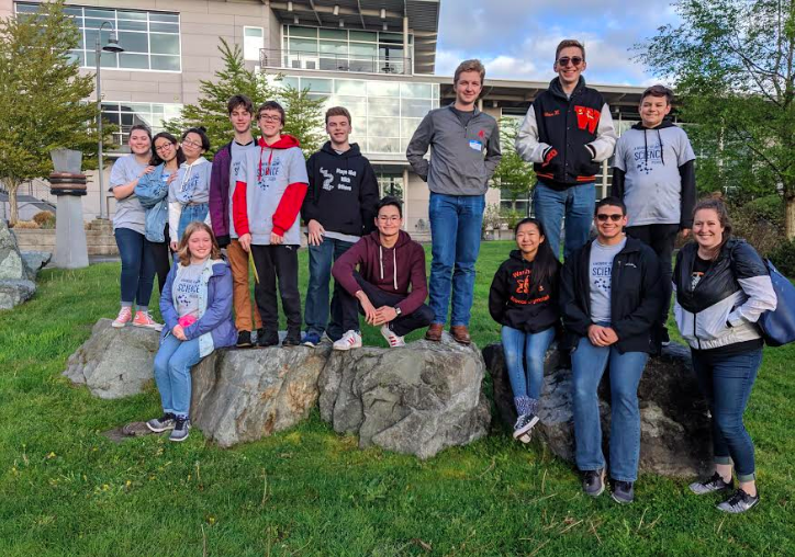 Science Olympics competes at State!