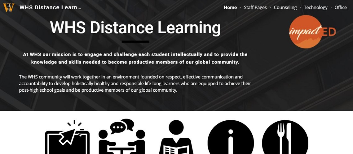 WHS Distance Learning Site