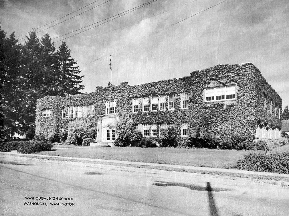 WHS Circa 1950 - the old Columbia Building on Main St.