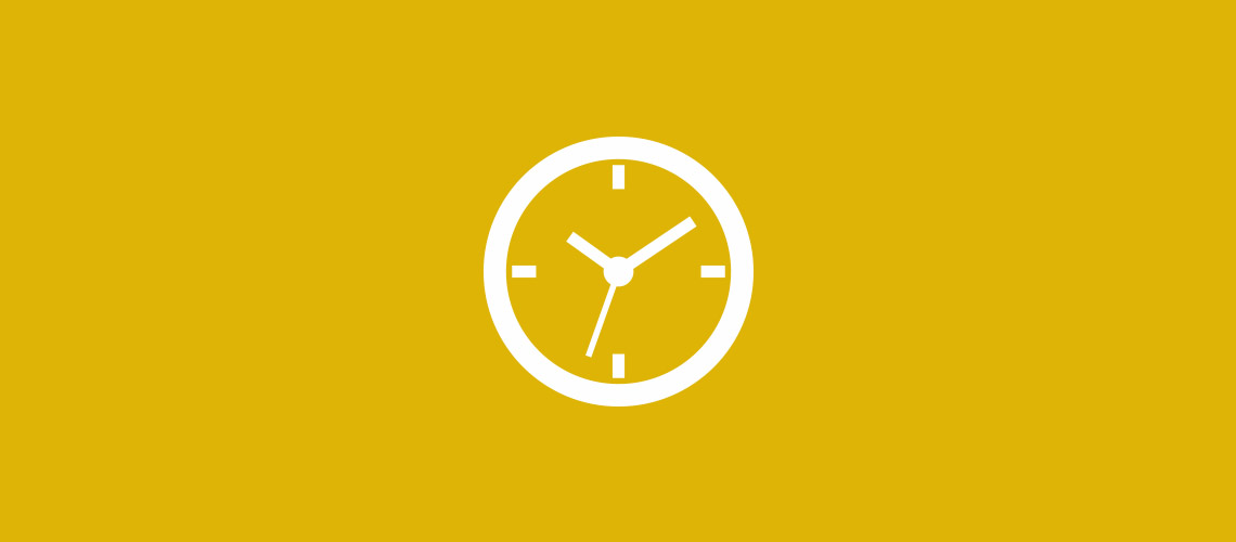Clock icon for news