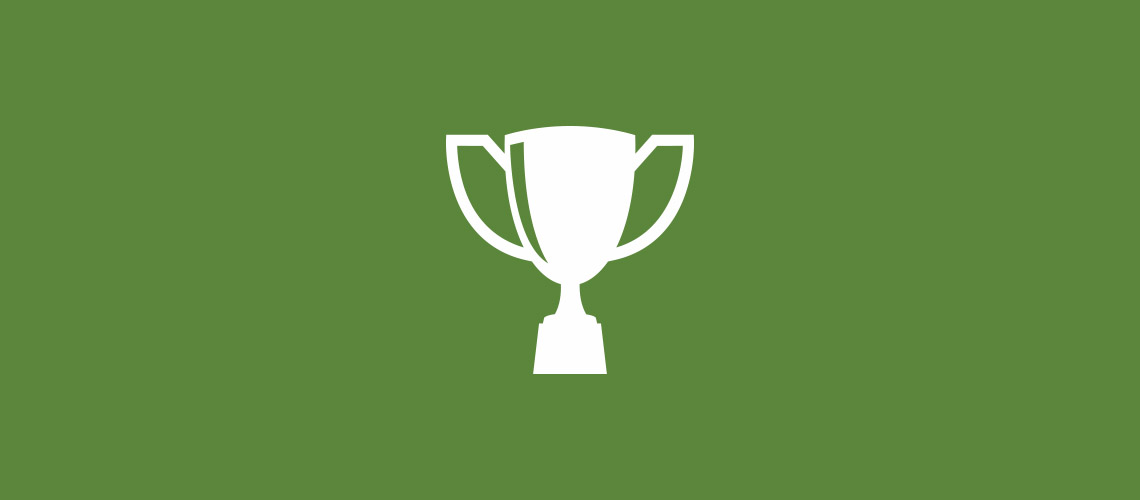 trophy or prize icon
