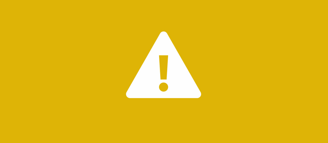 warning or caution icon