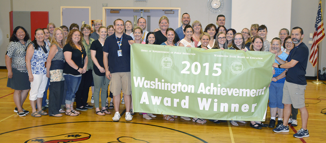 Hathaway Elementary receives state's highest honor
