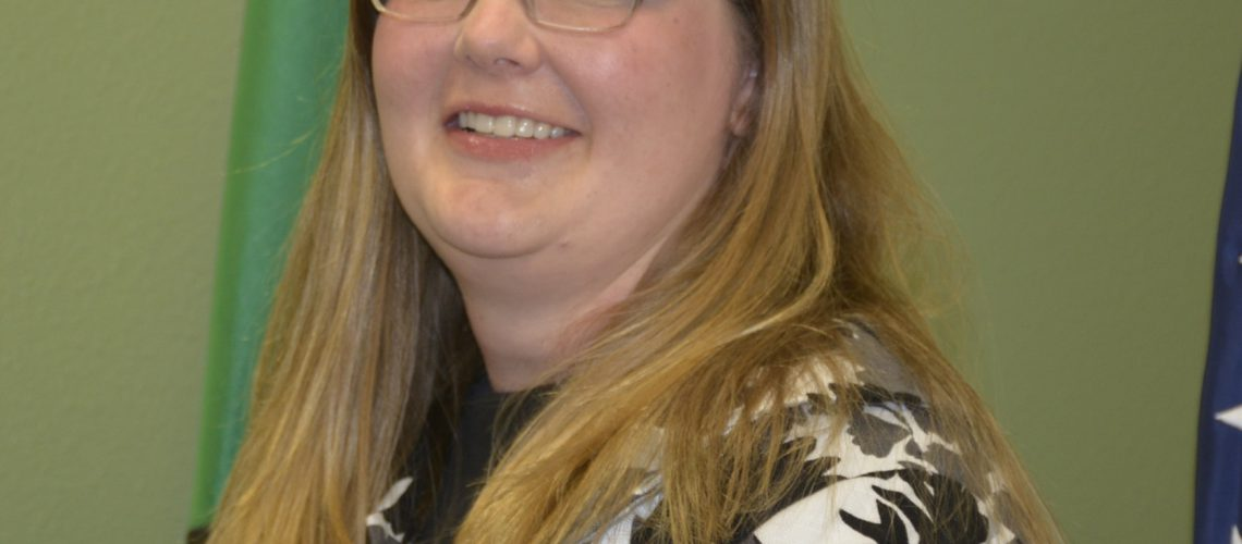 Kristine Grindy, the new WSD Business Manager