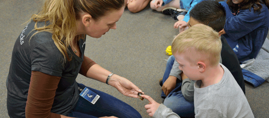 """""""The Bug Chicks"""" at Explore Insects with Gause Class"""